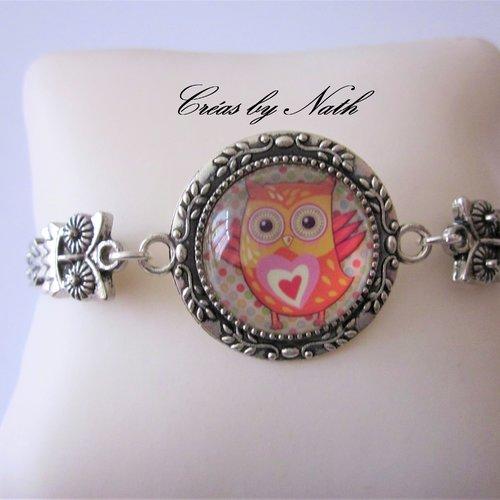 Bracelet chouette : paz