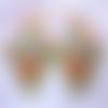 Boucles d'oreilles : ulyssia