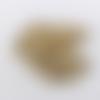 Lot de 20 grelots dorés