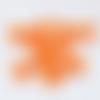 Lot de 5 noeuds en satin orange