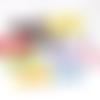 Lot de 10 noeuds mixte de couleur à poids