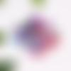 Lot de 30 perles craquelées 6mm mixte de couleurs