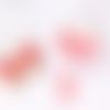 Boîte de 40 tranches de canes fraises faîtes main