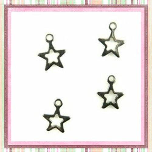 X3 breloques  petite étoile