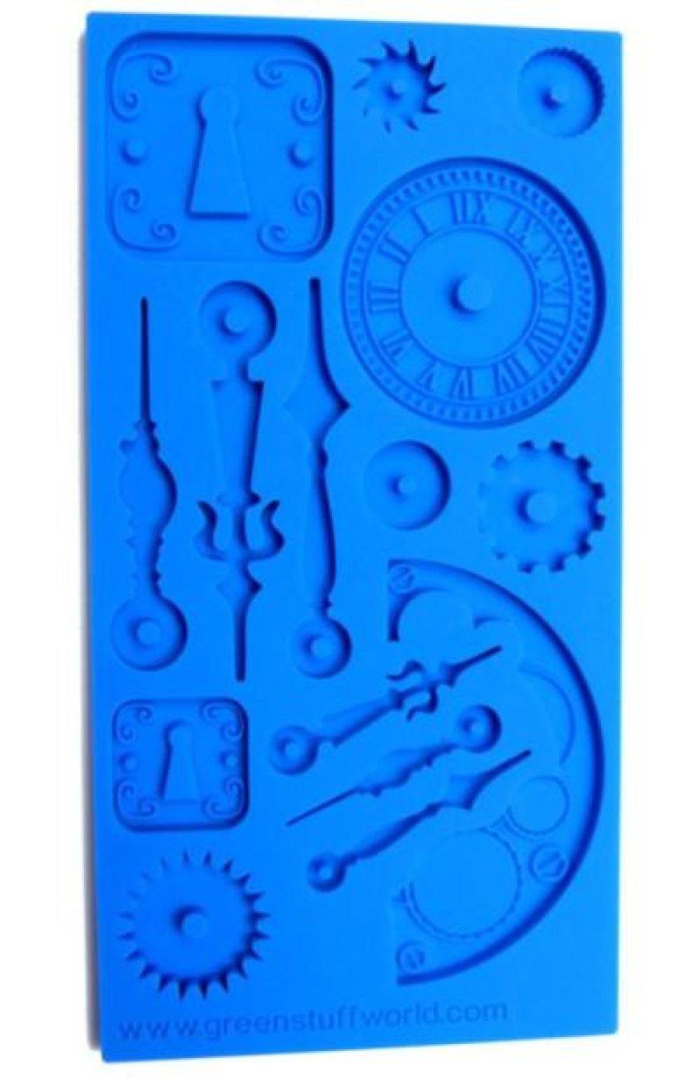 2 x moules de texture en silicone Steampunk