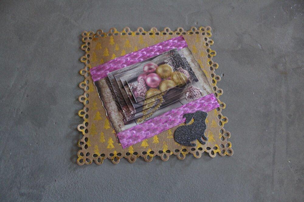 40 : NOEL Embellissement thème boules de noël pour scrapbooking, décoration