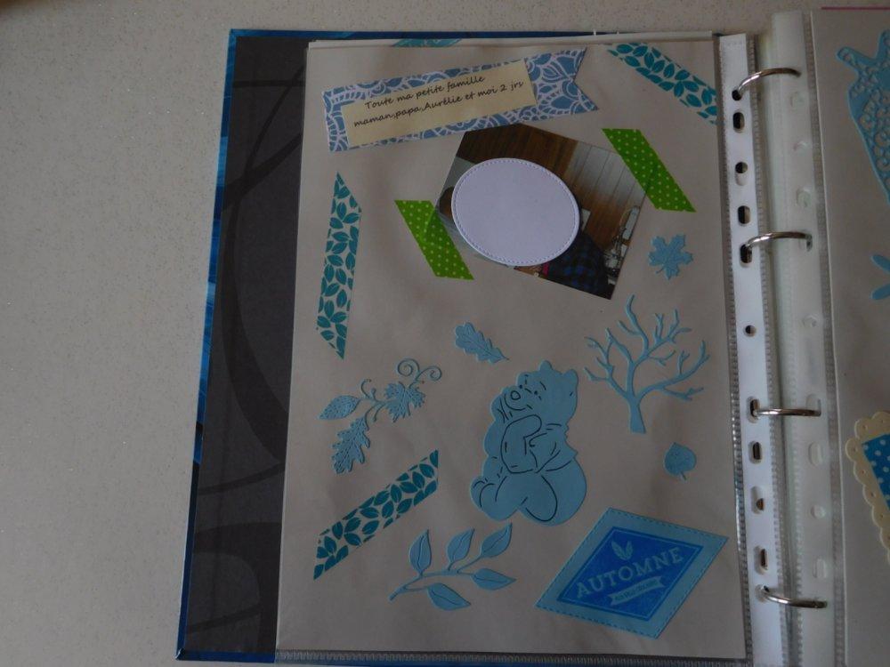 N/P 1292 - Découpe papier petite branche de feuilles - coloris vert clair