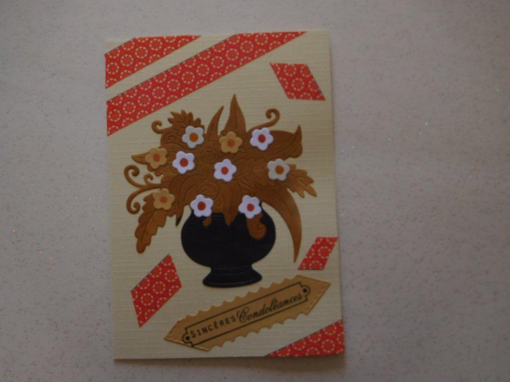 1834 - Carte de condoléances