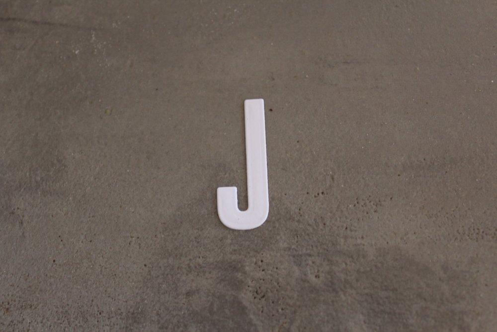N/P 2230- ALPHABET : Découpe lettre bâton J pour scrapbooking, prénoms, mots, initiale