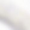 1 stand de perles  à facettes en verre toupie ab galva 5mm pf42b
