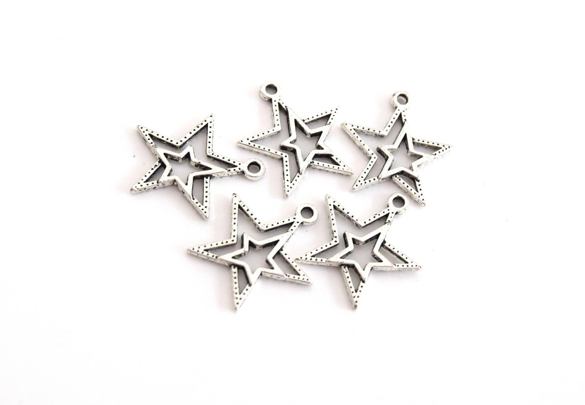 X5 étoiles double métal argenté 23mm B52