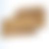 Plaquettes en bois d'olivier pour décoration et gravure 20cm - lot de 3