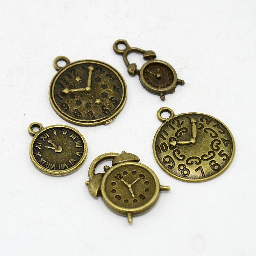 Lot de 5 breloques bronze  (BR036)