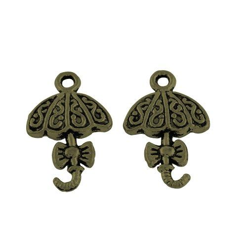 Lot de 10 breloques bronze  (br004)