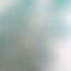 Perles miyuki berry turquoise transparent 4.5x2.5mm