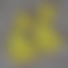 2 lapins jaune maïs 6 cm