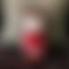 Poupée enfant - luluh en robe rouge (d'après un patron de mister o'lui)