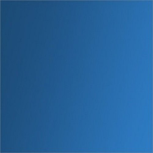 Tissu thermocollant 15x10cm effet métal bleu