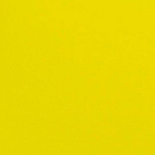 Tissu thermocollant 15x10cm vynil jaune