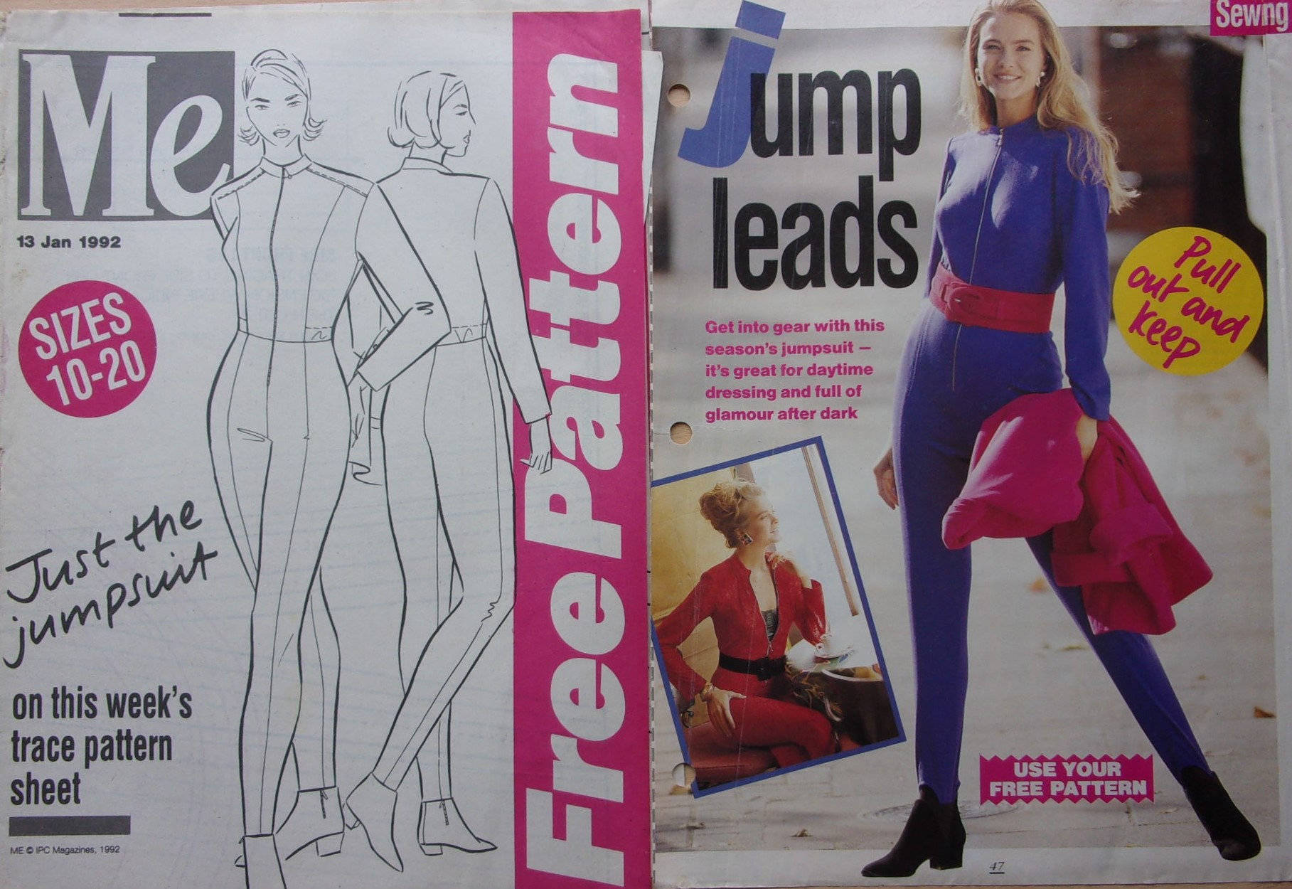 patrons couture me free pattern 13 - combinaison pantalon  pour femme