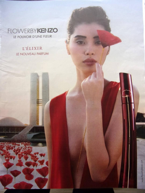 publicité  de presse -  parfum flower by  KENZO      ref. 29175