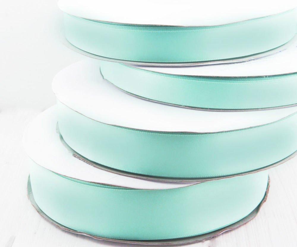 22M De 72 2 Ft 24Yds Bleu Turquoise Mince Ruban De Satin Tissu Artisanaux Décoratifs De Mariage Kanz SKU-38317