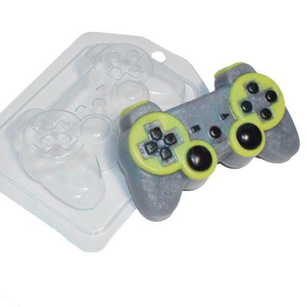 1Pc Manette De Gamer Ordinateur Internet Cadeau En Plastique Fabrication De Savon Moule 108X68X25Mm SKU-42868