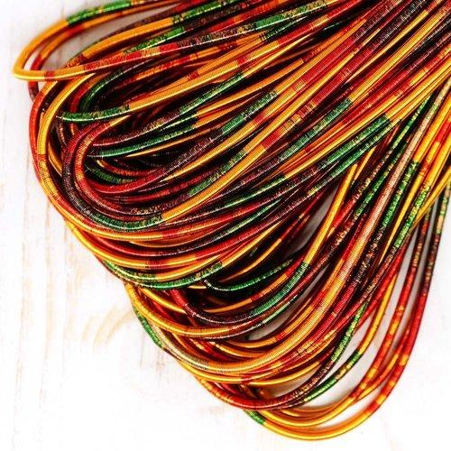 10g multicolore ronde en or lisse de cuivre à la main broderie française fine du fil métallique orfè sku-133172