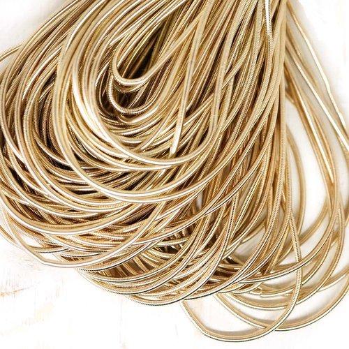10g blanc argent or rond lisse de cuivre à la main broderie française fine du fil métallique orfèvre sku-133176