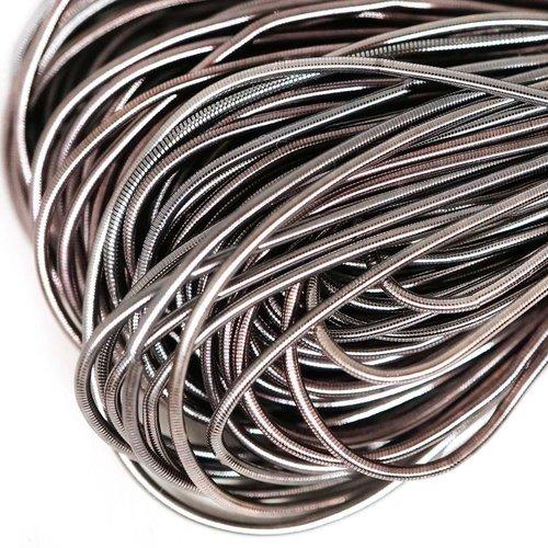 10g argent antique rond lisse de cuivre à la main broderie française fine du fil métallique orfèvrer sku-133177