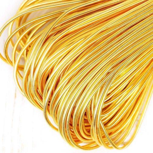 10g de couleur or foncé rond lisse de cuivre à la main broderie française fine du fil métallique orf sku-133181