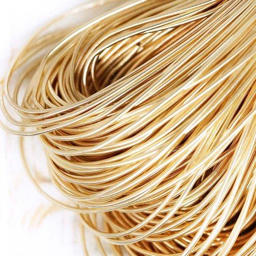 10g d'or et de lumière rond lisse de cuivre à la main broderie française fine du fil métallique orfè sku-133191