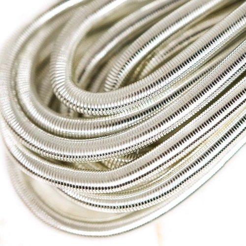 10g dépoli argent rond lisse de cuivre à la main broderie française fine du fil métallique orfèvreri sku-133199
