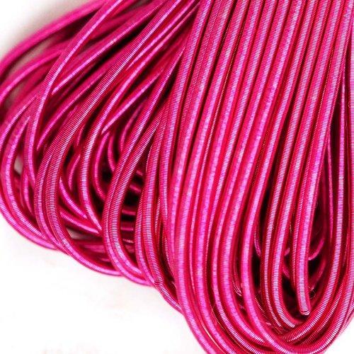 10g mat bébé rose rond lisse de cuivre à la main broderie française fine du fil métallique orfèvreri sku-133101