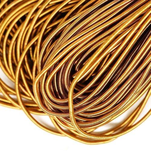10g or noir mat rond lisse de cuivre à la main broderie française fine du fil métallique orfèvrerie  sku-132974