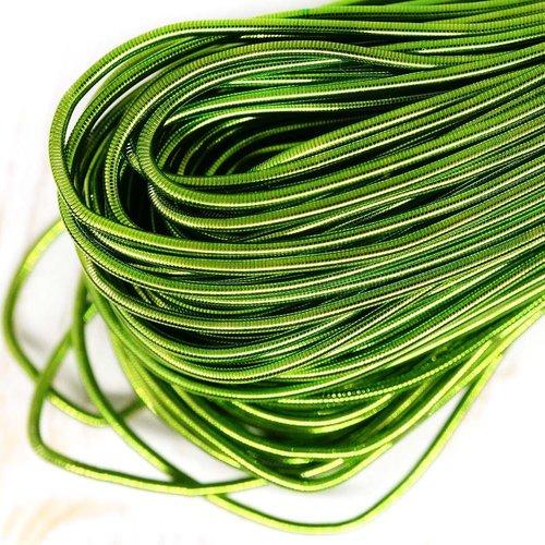 10g vert clair rond lisse de cuivre à la main broderie française fine du fil métallique orfèvrerie l sku-133103