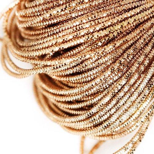 10g ronde en or lingots spirale de cuivre à la main broderie française fine du fil métallique orfèvr sku-133253