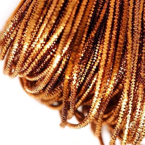 10g de bronze brillant rond en or lingots spirale de cuivre à la main broderie française fine du fil sku-133261