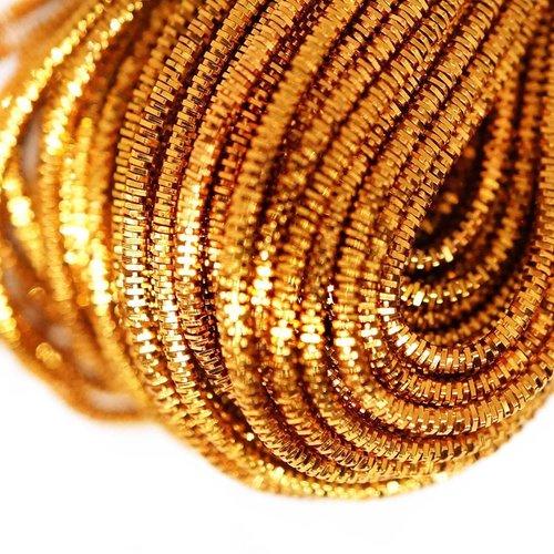 10g de bronze de la lumière ronde en or lingots spirale de cuivre à la main broderie française fine  sku-133262