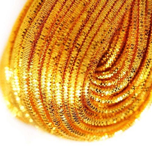 10g de miel ronde en or lingots spirale de cuivre à la main broderie française fine du fil métalliqu sku-133266