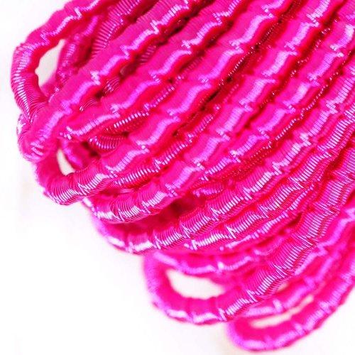 10g rond rose agité spirale de cuivre à la main broderie française fine métallique coupe-fil orfèvre sku-133327