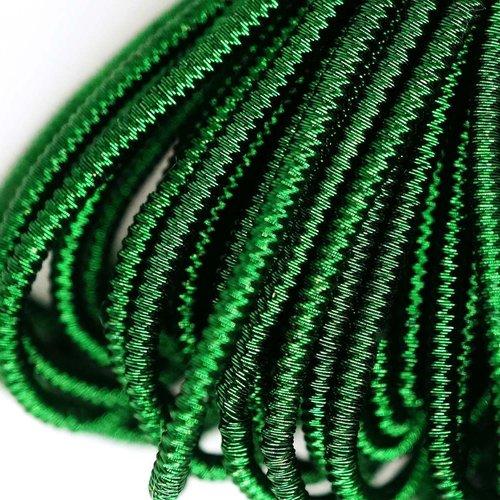 10g vert foncé rond spirale de cuivre à la main broderie française fine métallique coupe-fil orfèvre sku-133328
