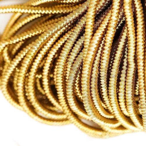 10g de laiton rond en or spirale de cuivre à la main broderie française fine métallique coupe-fil or sku-133334
