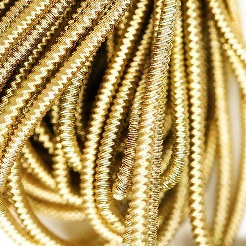 10g laiton antique de l'or ronde spirale de cuivre à la main broderie française fine métallique coup sku-133336