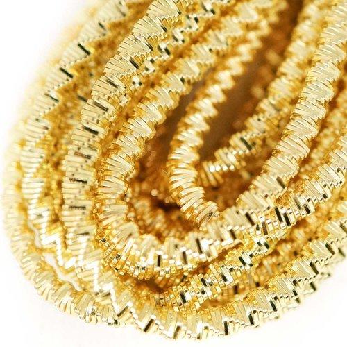 10g de lumière brillante de l'or ronde spirale de cuivre à la main broderie française fine métalliqu sku-133339