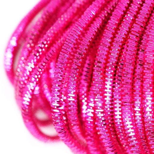 10g rond rose lingots spirale de cuivre à la main broderie française fine du fil métallique orfèvrer sku-133244