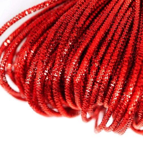 10g de lave rouge rond lingots spirale de cuivre à la main broderie française fine du fil métallique sku-133247