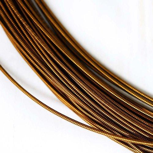 10g de bronze ronde en or rigide de cuivre à la main broderie française fine métallique coupe-fil or sku-133484