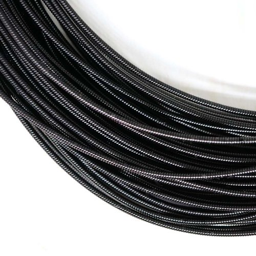 10g rond noir rigide de cuivre à la main broderie française fine métallique coupe-fil orfèvrerie lun sku-133489