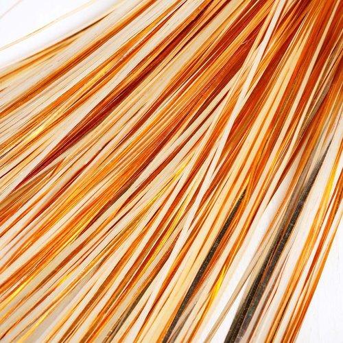 10g 60pcs la lumière de l'or plat de bande de cuivre à la main broderie français du fil métallique o sku-133576